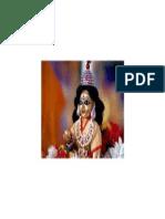 Lord Krishnana With Laddu