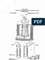 US Patent 400664 - Process of reducing aluminium from its fluoride salts by electrolysis