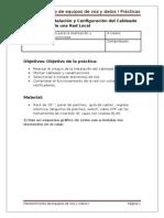Mantenimiento de Voz y Datos I Práctica 9