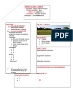 outdoor lesson plan
