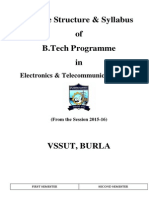 Vssut ETC-NEW Syllabus From 2015
