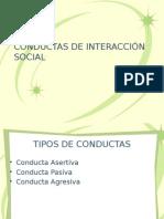 Conductas de Interacción Social
