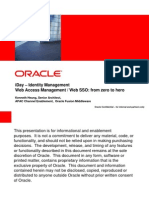 Web Access Management - Web SSO From Zero to Hero