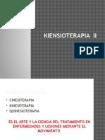 Kinesioterapia II  de JSGM Tema # 1 que es CINESITERAPIA KINESITERAPIA QUINESIOTERAPIA