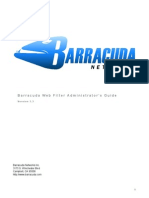 Barracuda  Admin Guide