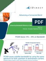 iDirect PCMA
