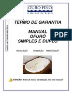 Manual OFURO_individual e Duplo