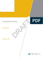 iDirect Security Best Practices Technical Note