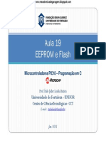 Aula 19 - EEPROM e Flash