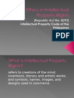 Ethics in Intellectual Property Rights