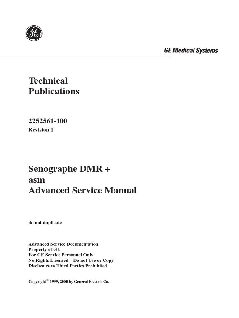 manual service dmr sonographe ge areas of computer science rh es scribd com Medical Data Medical Data