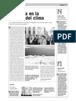 Tormenta en la cumbre del clima