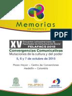 Memorias Felafacs EJE TEMÁTICO 2