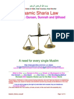 Islaamic Sharia Law Sunni