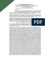 Resolución Administrqativa, Mejoramiento Aeropuerto de Apolo