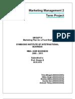 Term Project-Tea Stall-Marketing Management