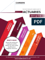 Inside Careers Guide to Actuaries 2014-15