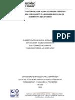 Factibilidad Para La Creacion de Una Peluqueria y Estetica Especializada en El Cuidado de La Belleza Masculina en Ocaña Norte de Santander