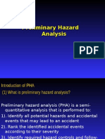 Preliminary Hazard Analysis