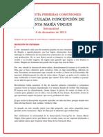 EUCARISTÍA PRIMERAS COMUNIONES