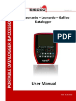 Leonardo, NewLeonardo, Galileo User Manual