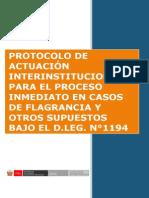 Protocolo de Proceso Inmediato 05 11 15