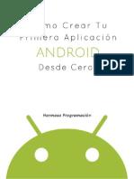 Ejemplo Pimera APP Android