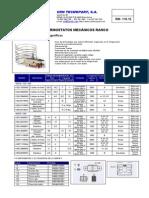 Rw11020 - Termostatos Valores Varios, Diferentes Neveras