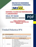 Unid 6 Tema 1 Hidraulica- Modelo Reologicos 19-10-15