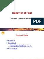 Behaviour of Fuel