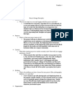 Project Design Principles