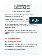 Section 4 2 Impedance and Admittance Matricies Package