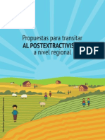 Post Extractivismo-A Nivel Regional FINAL