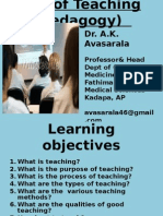art of teaching.ppt