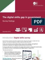 The Digital Skills Gap in Government Survey Findings December 2015