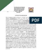 Contrato de Aprendizaje Eclesiastico II