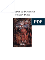 William Blake Cantares de Inocencia