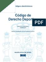 BOE-103 Codigo de Derecho Deportivo