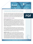 Communications Channels for Every Budget