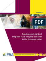 FRA 2011 Migrants in an Irregular Situation En