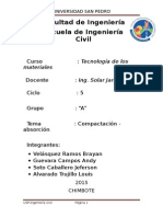 Informe de Compactacion y Absorcion