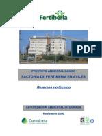 Proyecto Ambiental Fretiberia Acido Nitrico