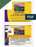 JavaScript 3 Browser