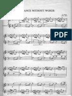 Duo Flauta-Romance Without Words- G. Fauré.
