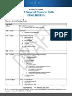 TR300.THOR.Xi.KindHeart Course Agenda