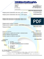 Preturi Linie Tehnologica Etichetat, Capsat, Imbuteliat