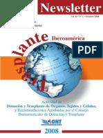 Transplante de Organos- Iberoamerica