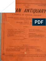 Indian Antiquary - A Journal of Oriental Research