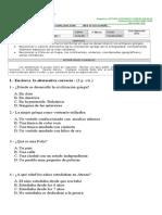 prueba 3°  historia institucional 27 de Noviembre de 2015.-