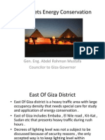 -Giza Succesfull  Streets Energy Conservation Pilot Project Case .